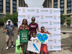 People's Climate March 2017 - Green Latinos