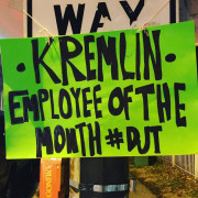 #protestsigns #womensmarch Kremlin employee of the month: #trump #maga #makerussiagreatagain