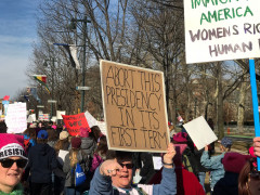 Philly Women's March 2018 - Abort the Presidency in the 1st term