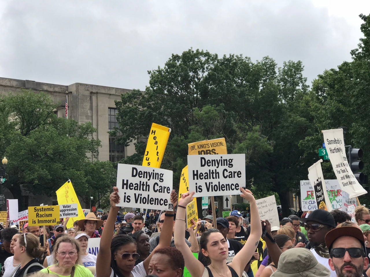 """Poor People's Campaign - Denying <a class=""""bx-tag"""" rel=""""tag"""" href=""""https://wethepeople.care/page/view-channel-profile?id=451""""><s>#</s><b>healthcare</b></a> is Violence"""