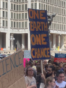 #climatestrike - #philly - One #earth, one chance