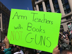 #MFOL - Arm #teachers with books not guns