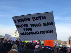 Philly Women's March 2018 - I #know both guys who saw the inauguration