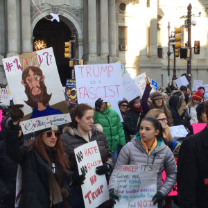 Immigrant Rights Protest - Philadelphia - February 4, 2017 - WWJD