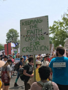 People's Climate March 2017 - Keeping the Faith, Caring for Creation