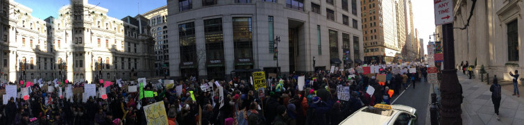 Immigrant Rights Protest - Philadelphia - February 4, 2017