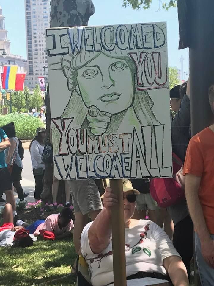"""<a class=""""bx-tag"""" rel=""""tag"""" href=""""https://wethepeople.care/page/view-channel-profile?id=722""""><s>#</s><b>familiesbelongtogether</b></a> - Lady Liberty"""