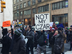 Immigrant Rights Protest - Philadelphia - February 4, 2017 - Not My Czar