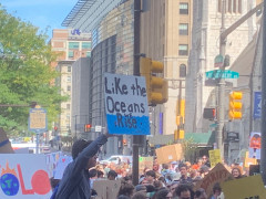 #climatestrike - #philly - like the oceans rise