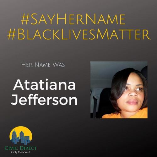 Say Her Name: Atatiana Jefferson