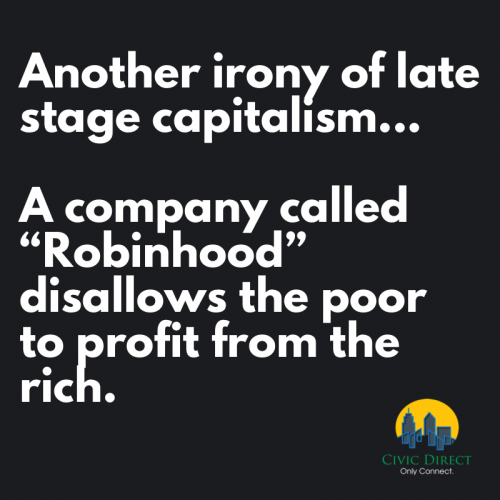 Robinhood protects the rich...