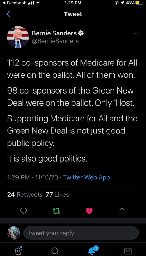 Green New Deal and Medicare for All are Good Policies and Good Politics