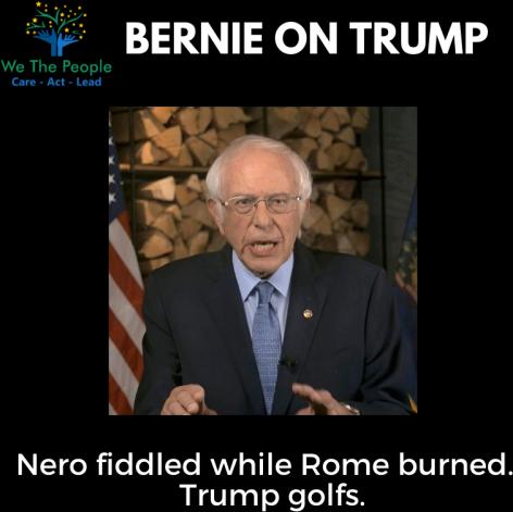 Bernie on Trump #DNC2020
