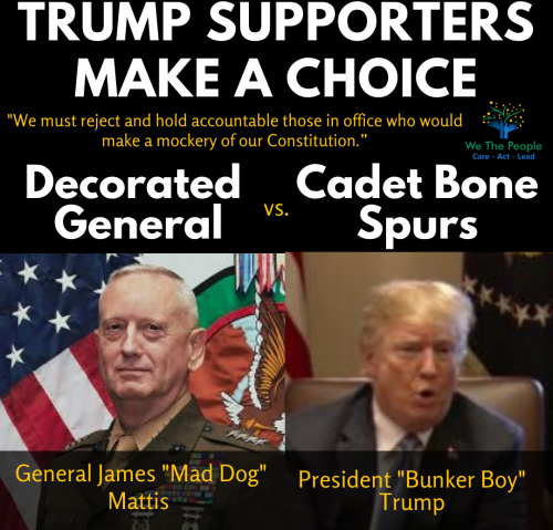 Trump Supporters Make a Choice