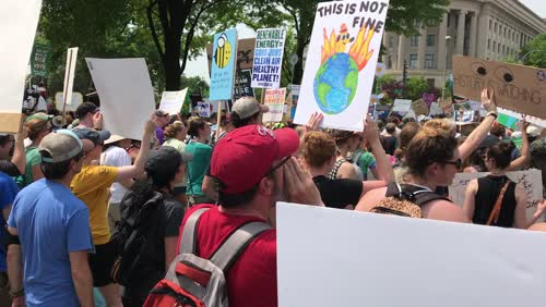 Climate March on Washington 2017