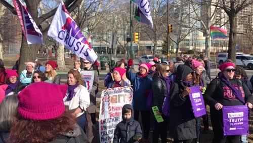 Women's March - Philadelphia - January 20, 2018